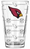 Arizona Cardinals 16 oz. Sandblasted Pint Glass