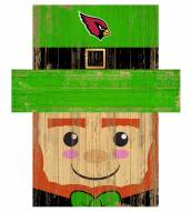 "Arizona Cardinals 19"" x 16"" Leprechaun Head"