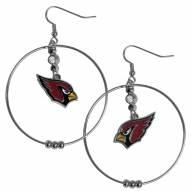 "Arizona Cardinals 2"" Hoop Earrings"