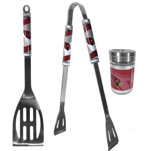 Arizona Cardinals 2 Piece BBQ Set with Season Shaker