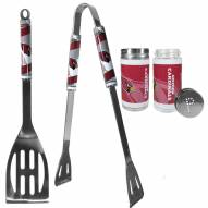 Arizona Cardinals 2 Piece BBQ Set with Tailgate Salt & Pepper Shakers