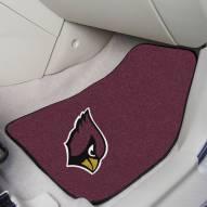 Arizona Cardinals 2-Piece Carpet Car Mats