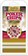 Arizona Cardinals 20 Piece Poker Chips