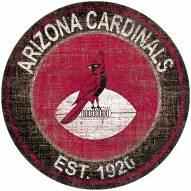 "Arizona Cardinals 24"" Heritage Logo Round Sign"