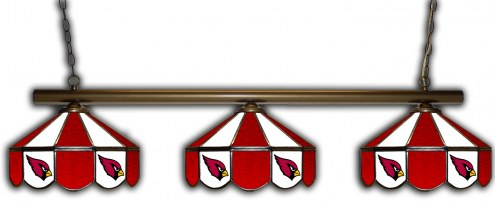 Arizona Cardinals 3 Shade Pool Table Light