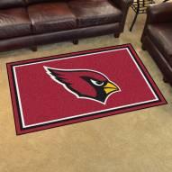 Arizona Cardinals 4' x 6' Area Rug