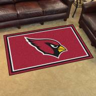 Arizona Cardinals 4' x 6' Area Rug