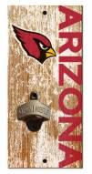"Arizona Cardinals 6"" x 12"" Distressed Bottle Opener"