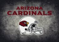 Arizona Cardinals 8' x 11' NFL Distressed Area Rug