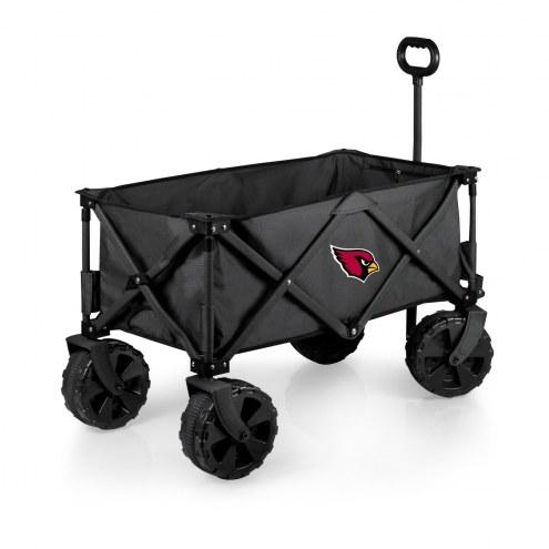 Arizona Cardinals Adventure Wagon with All-Terrain Wheels