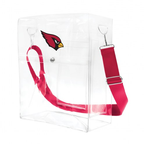 Arizona Cardinals Clear Ticket Satchel