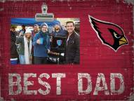 Arizona Cardinals Best Dad Clip Frame