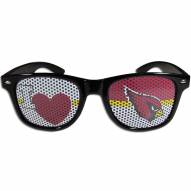 Arizona Cardinals Black I Heart Game Day Shades