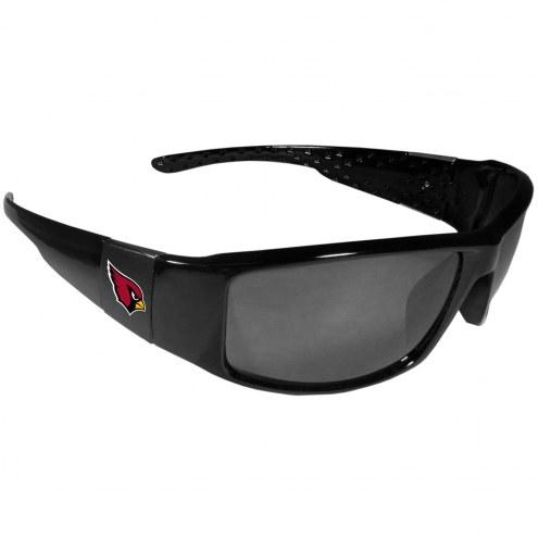 Arizona Cardinals Black Wrap Sunglasses
