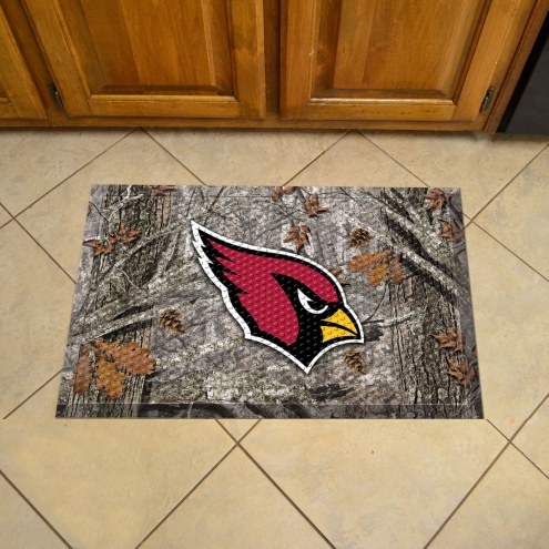 Arizona Cardinals Camo Scraper Door Mat