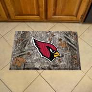 Arizona Cardinals Camo Scraper Door Mat