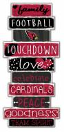 Arizona Cardinals Celebrations Stack Sign