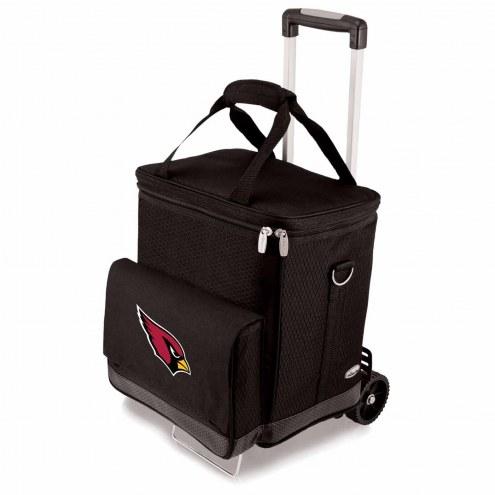 Arizona Cardinals Cellar Cooler with Trolley