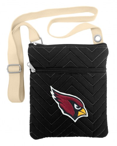 Arizona Cardinals Chevron Stitch Crossbody Bag