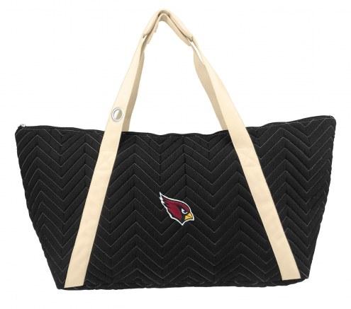 Arizona Cardinals Chevron Stitch Weekender Bag