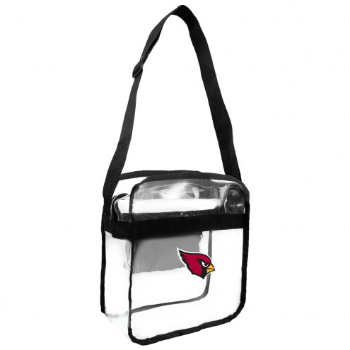 Arizona Cardinals Clear Crossbody Carry-All Bag