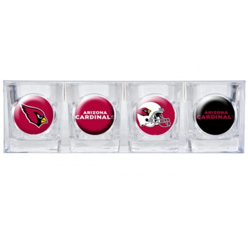 Arizona Cardinals Collector's Shot Glass Set
