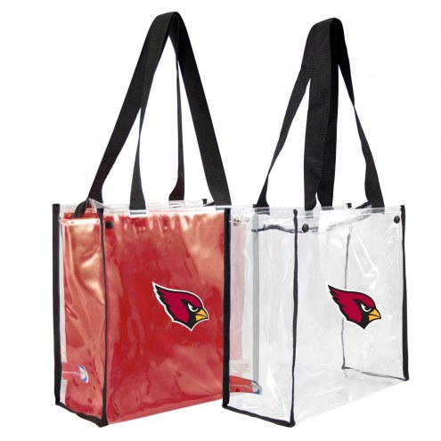 Arizona Cardinals Convertible Clear Tote