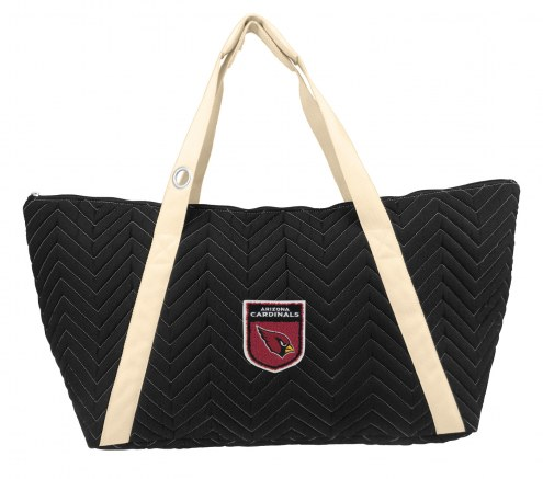 Arizona Cardinals Crest Chevron Weekender Bag