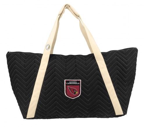 Arizona Cardinals Crest Chevron Weekender Bag