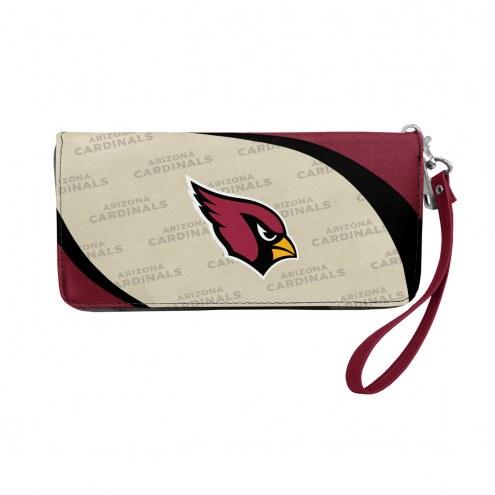 Arizona Cardinals Curve Zip Organizer Wallet