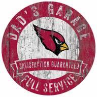 Arizona Cardinals Dad's Garage Sign