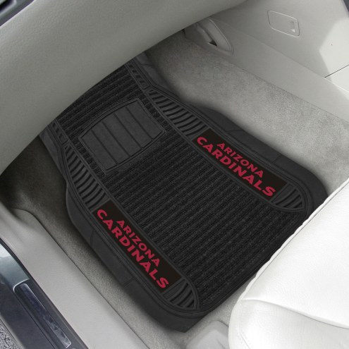 Arizona Cardinals Deluxe Car Floor Mat Set