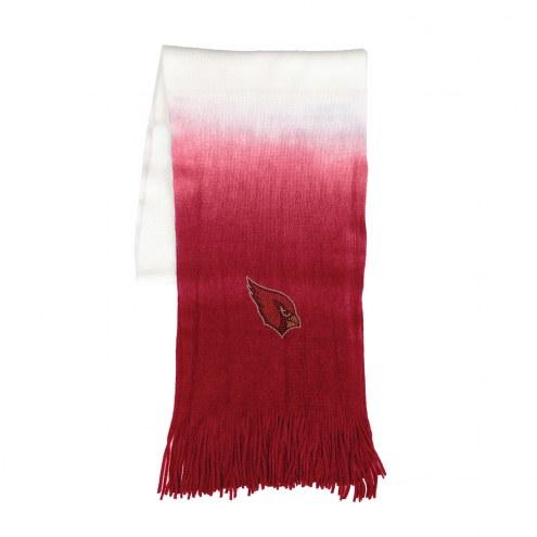 Arizona Cardinals Dip Dye Scarf