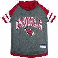 Arizona Cardinals Dog Hoodie Tee