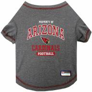 Arizona Cardinals Dog Tee Shirt