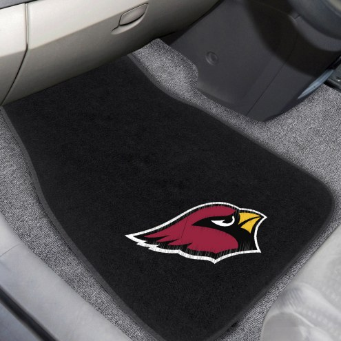 Arizona Cardinals Embroidered Car Mats