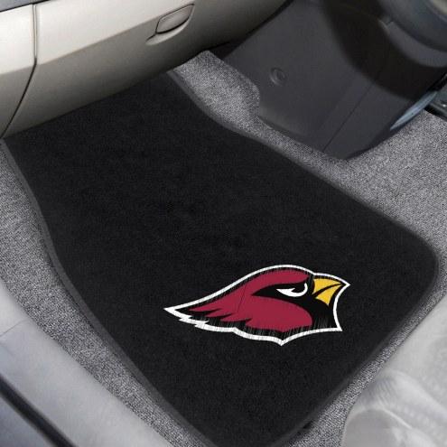 Arizona Cardinals Embroidered Car Mats
