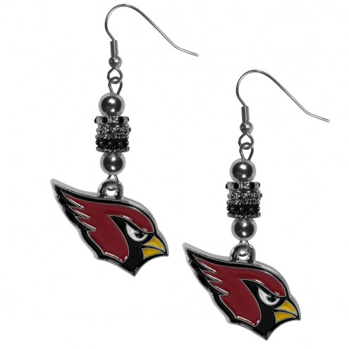 Arizona Cardinals Euro Bead Earrings