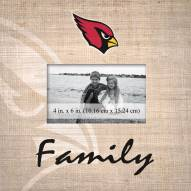Arizona Cardinals Family Picture Frame