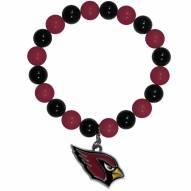 Arizona Cardinals Fan Bead Bracelet