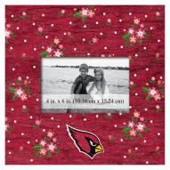 "Arizona Cardinals Floral 10"" x 10"" Picture Frame"