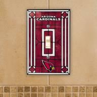 Arizona Cardinals Glass Single Light Switch Plate Cover