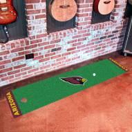 Arizona Cardinals Golf Putting Green Mat