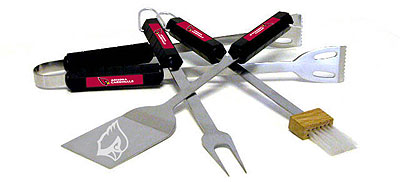 Arizona Cardinals Grill Tool Set