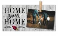 Arizona Cardinals Home Sweet Home Clothespin Frame