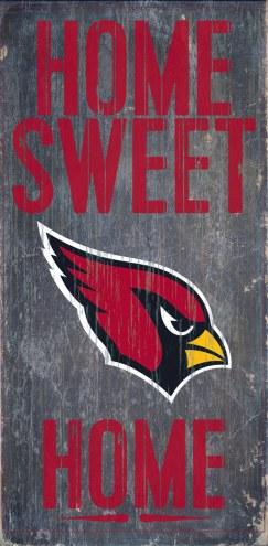 Arizona Cardinals Home Sweet Home Wood Sign