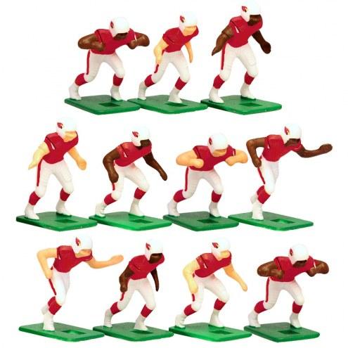 Arizona Cardinals Home Uniform Action Figure Set