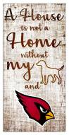 Arizona Cardinals House is Not a Home Sign