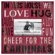 """Arizona Cardinals In This House 10"""" x 10"""" Picture Frame"""