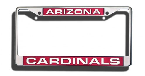 Arizona Cardinals Laser Cut License Plate Frame